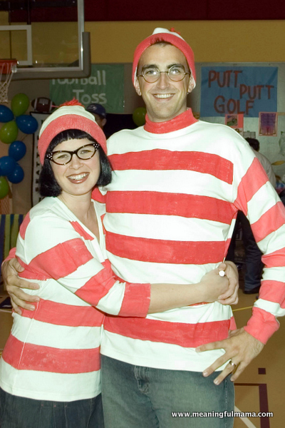 Easy couple costume
