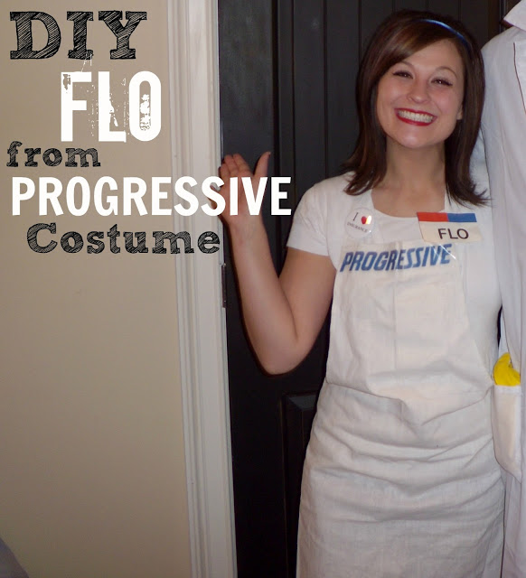 flo progressive girl costume