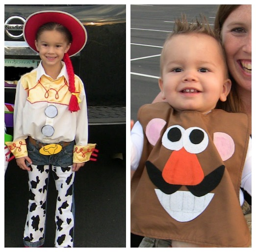 handmade toy story costumes