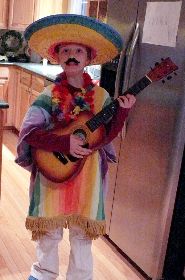 Mexican inspired handmade costumes