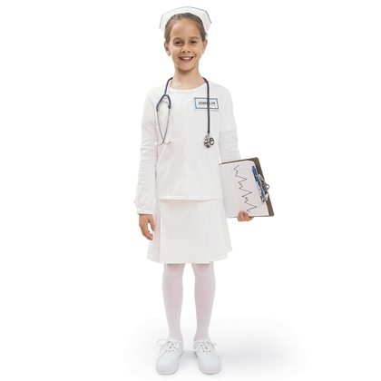 homemade nurse halloween costume