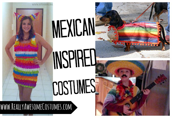 Mexican inspired costumes