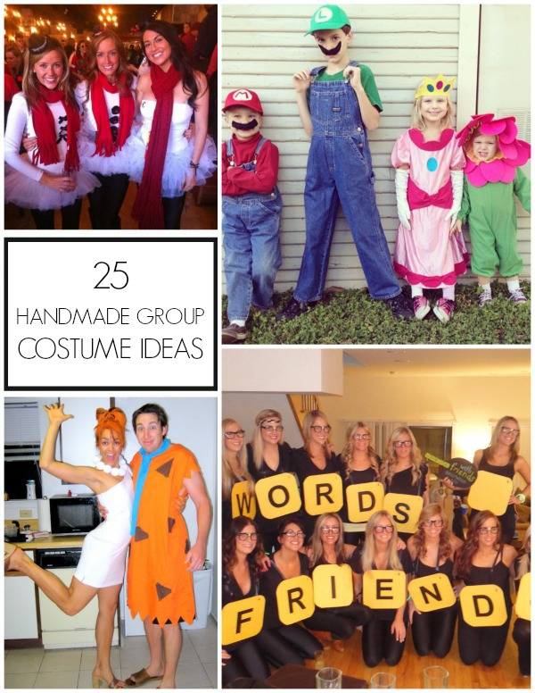 Tons of great group Halloween costume ideas