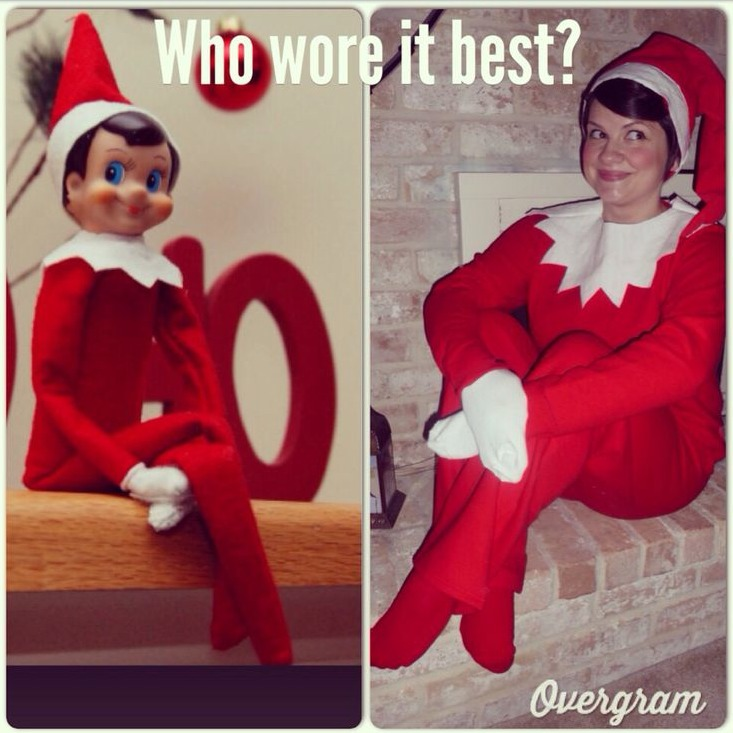 diy elf on the shelf costume