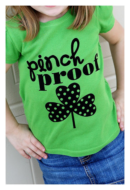 DIY St. Patricks Day T-shirts