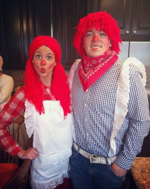 Raggedy Anne and Andy costume