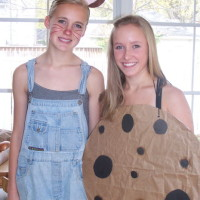 DIY Mouse and Cookie costume