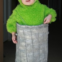DIY Oscar the Grouch costume
