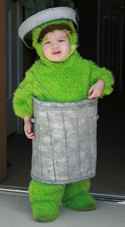 Diy Oscar The Grouch Costume on oscar sesame street onesie