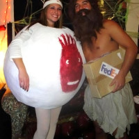 DIY Cast away costume