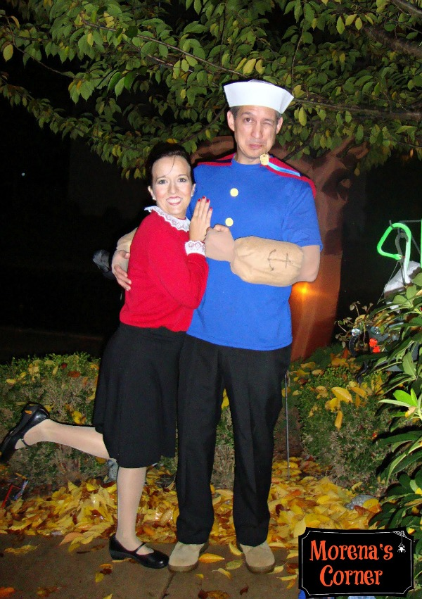 DIY Popeye and Olive Oyl