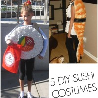 DIY sushi costumes for everyone!