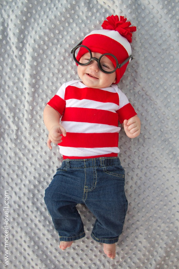 DIY Where's Waldo costume