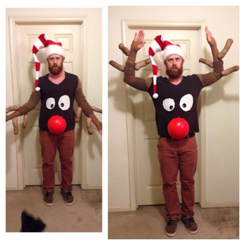DIY Reindeer Sweater