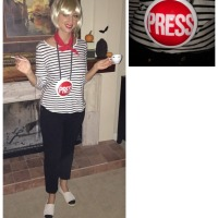DIY French Press Costume