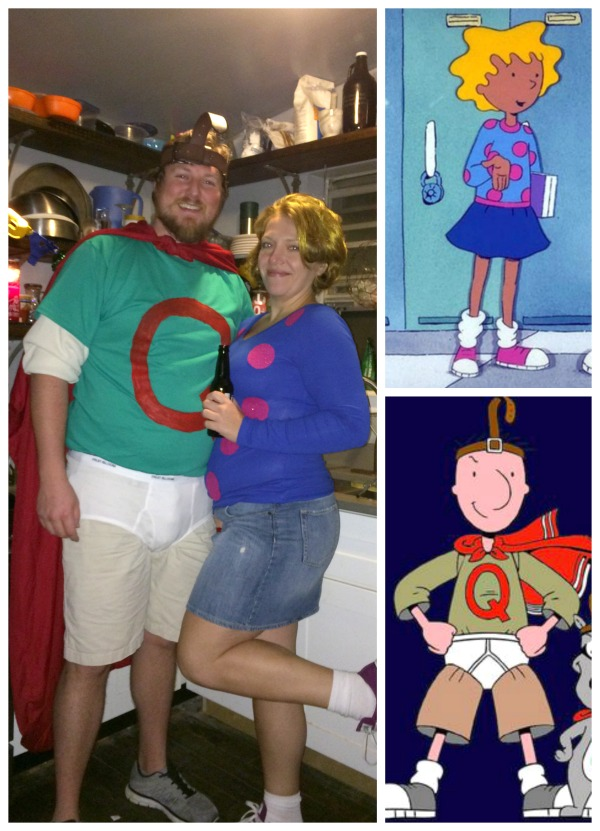 Couples: Quail Man and Patty Mayonnaise Costume - Really ... Quailman And Patty Mayonnaise