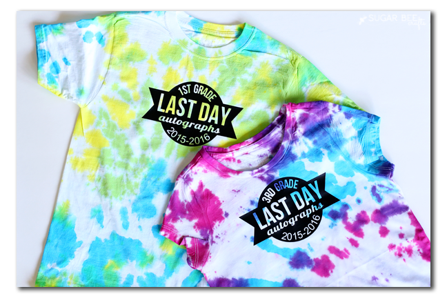 DIY Last day of School T-shirts
