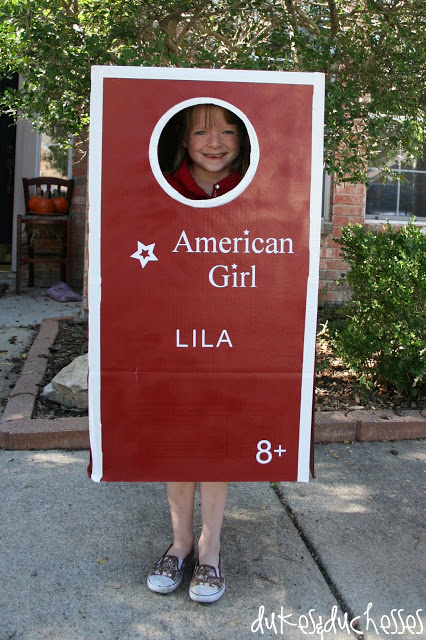 America Girl DIY Costume