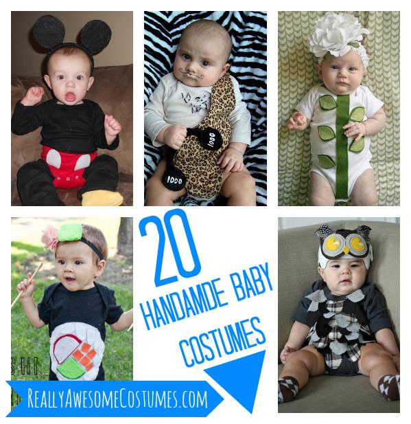 20 Handmade Baby Costumes