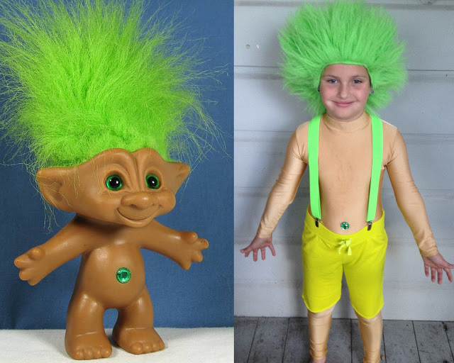 DIY Troll costume