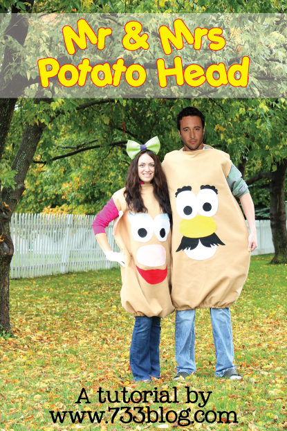 Mr. and Mrs. Potato Head Costumes