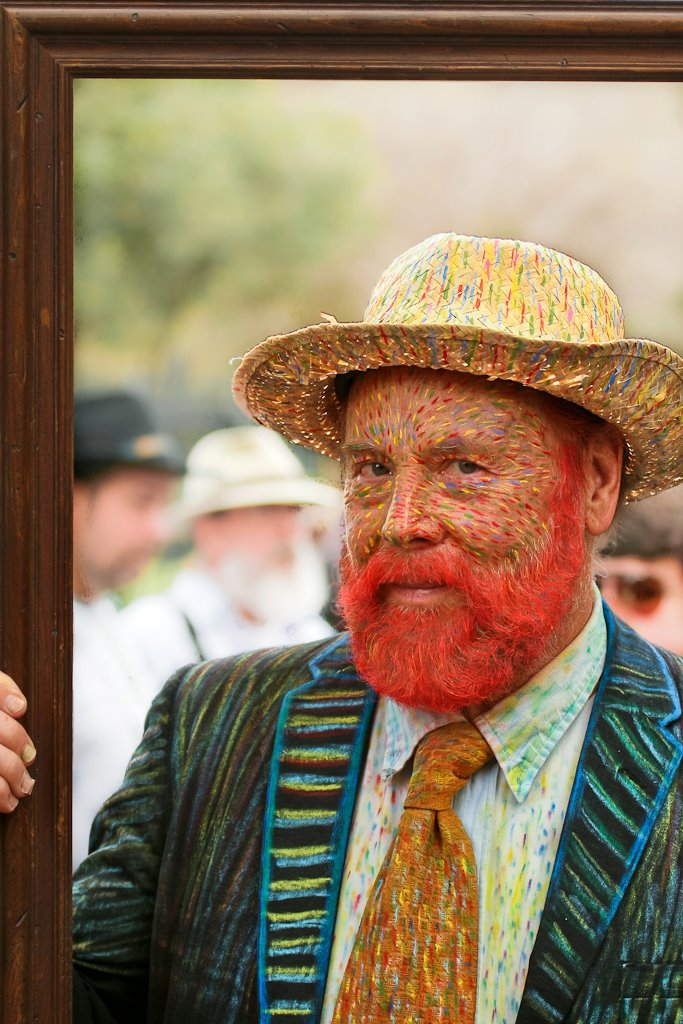 Vincent Van Gogh painting costume