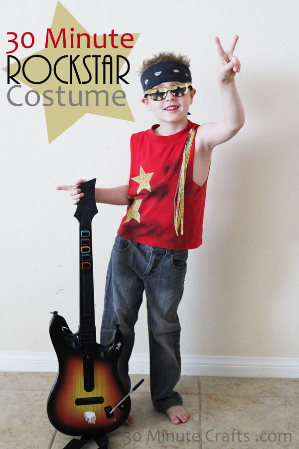 Kids Diy Rockstar Costume Really Awesome Costumes