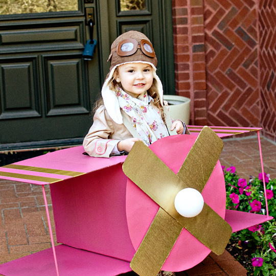 Madden Airplane Diy Cardboard Airplane Creative Boy: Really Awesome Costumes