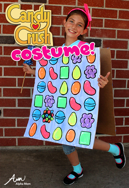 DIY Candy Crush costume