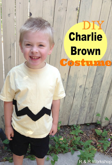 DIY Charlie Brown Costume