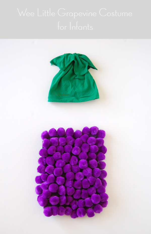 DIY grape costume