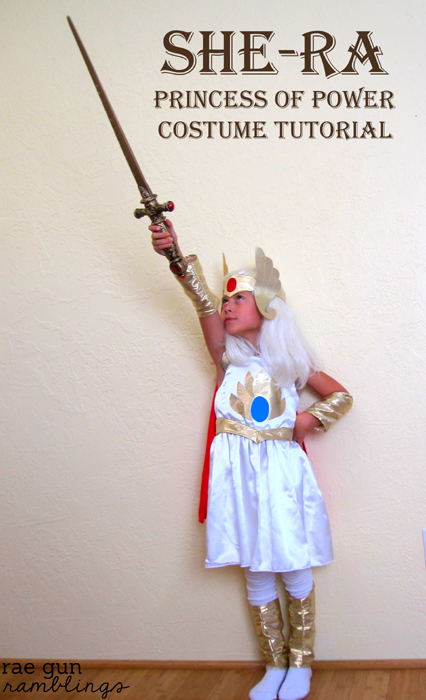 Homemade She-Ra Costume