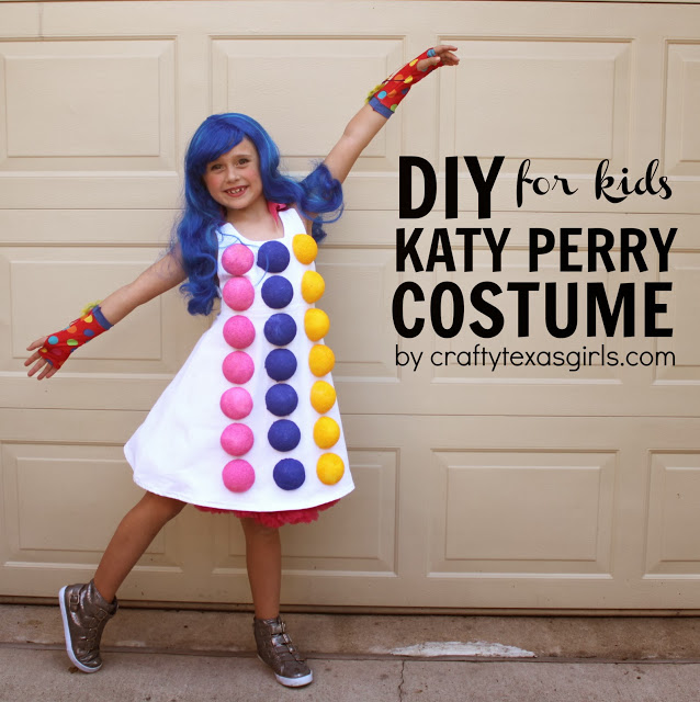 DIY Kate Perry costume