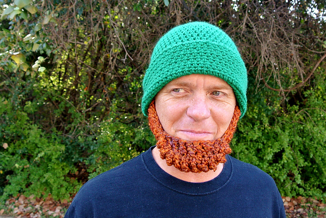 Crochet Leprechaun beard