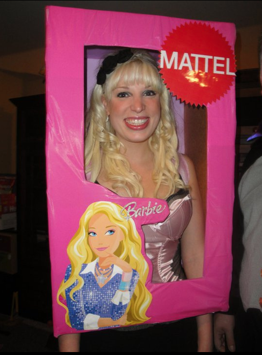 DIY Barbie costume