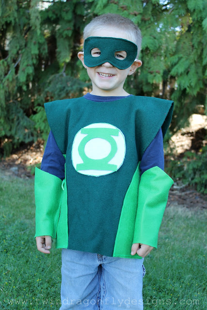 DIY Green Lantern Costume