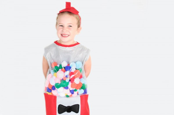 Kids Diy Gumball Machine Costume Really Awesome Costumes