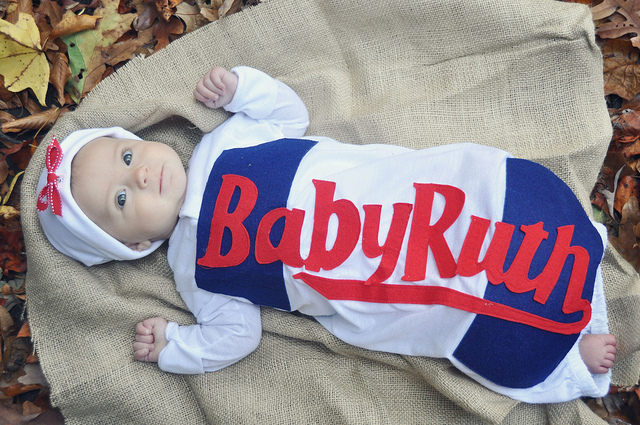DIY Baby Ruth costume
