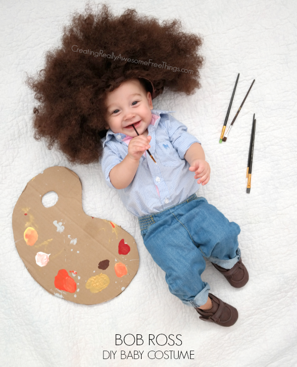 Babies Baby Bob Ross Costume Really Awesome Costumes