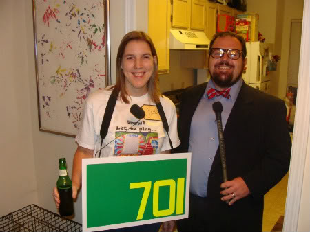 DIY Price is Right costumes