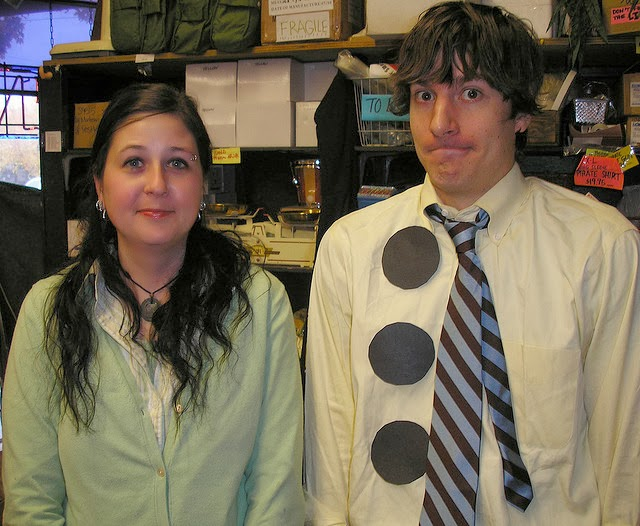 Jim and pam costume
