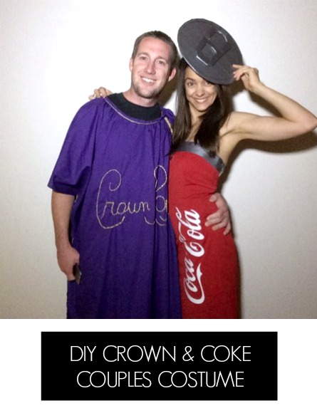 DIY Crown and Coke Costumes